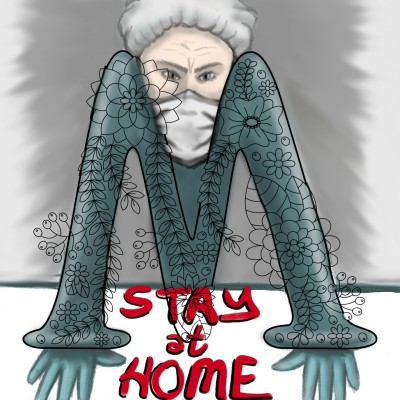 STAY AT HOME for doctors  | mjalkan | Digital Drawing | PENUP