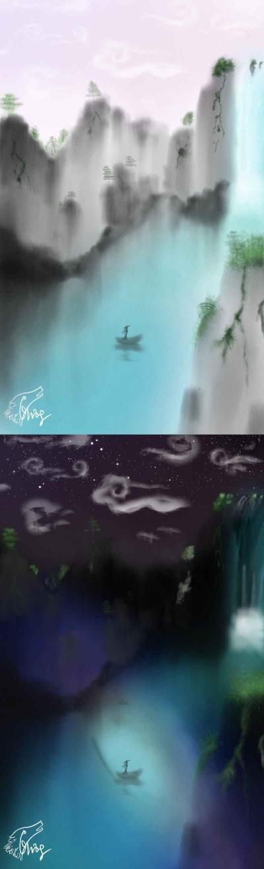 Day & Night | Yuning | Digital Drawing | PENUP