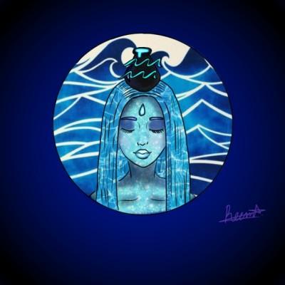 Zodiac ~Aquarius~   Reema21   Digital Drawing   PENUP