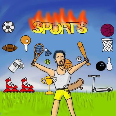 fire sport | J-O-C | Digital Drawing | PENUP