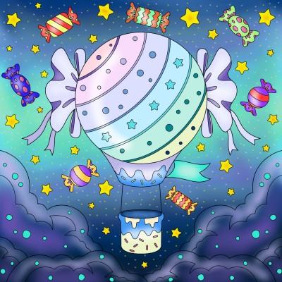candyland sky | tashapreisner | Digital Drawing | PENUP