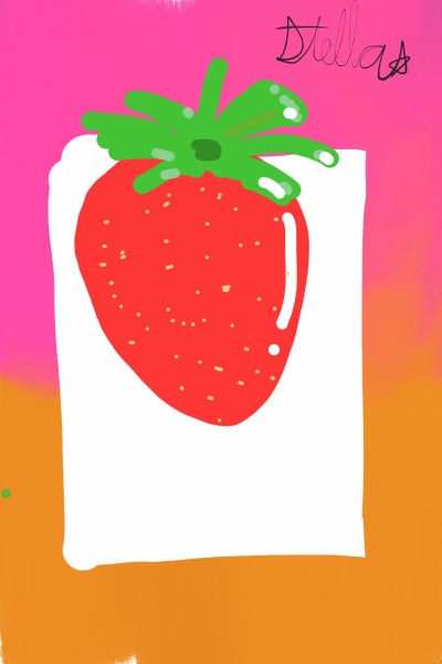 Simple Strawberry | ProtoStar | Digital Drawing | PENUP