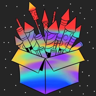 Colourful Crackers | Aditya | Digital Drawing | PENUP