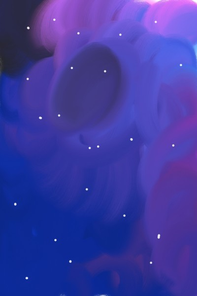 Sky at night | A.K.G_INDIA | Digital Drawing | PENUP