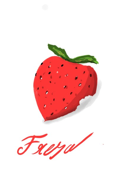 Strawberry fresa | alarismos | Digital Drawing | PENUP