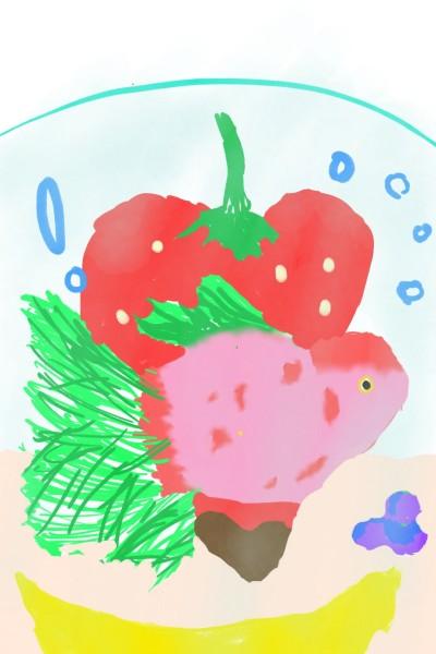 strawberryfish | Muanjai | Digital Drawing | PENUP