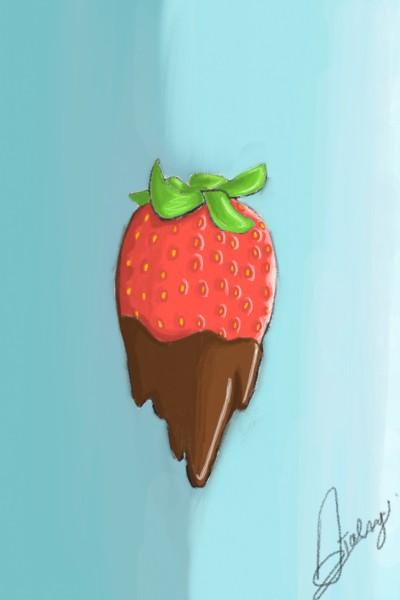 Fraise Choco | Assa13 | Digital Drawing | PENUP