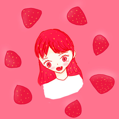 Strawberry Girl 2  | minkyung10114 | Digital Drawing | PENUP