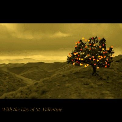 With the Day of St. Valentine  (photoshop) | Denis | Digital Drawing | PENUP