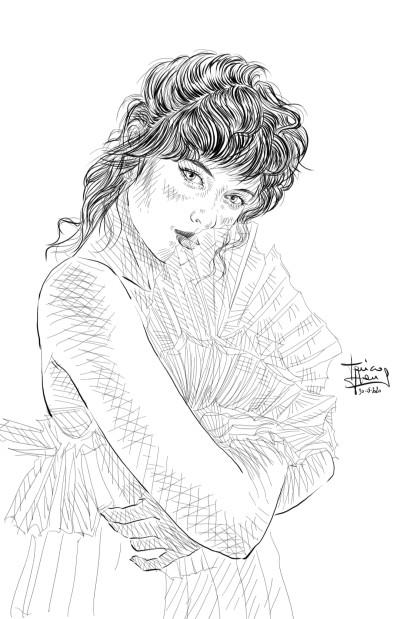 Olesya | jericojhones | Digital Drawing | PENUP
