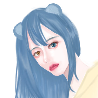 우유빛깔 앤캐님   chamchi   Digital Drawing   PENUP