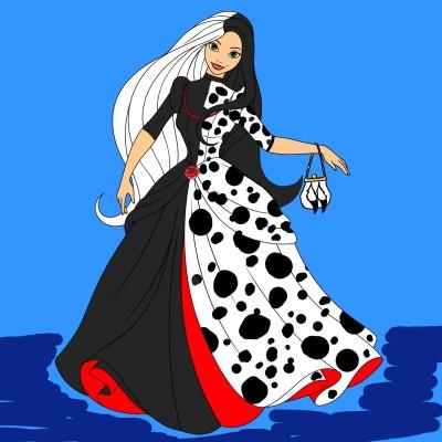 Cruella DeVille (At The Ball)   Bekkie   Digital Drawing   PENUP