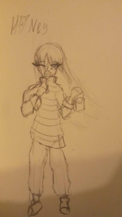 Character Digital Drawing | -TamilaTroupe- | PENUP