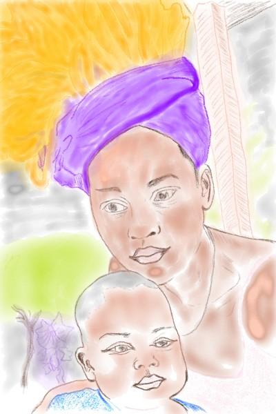A mothers care | reaganmacdavid | Digital Drawing | PENUP