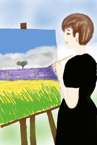 I draw for srijani  | Natasha | Digital Drawing | PENUP