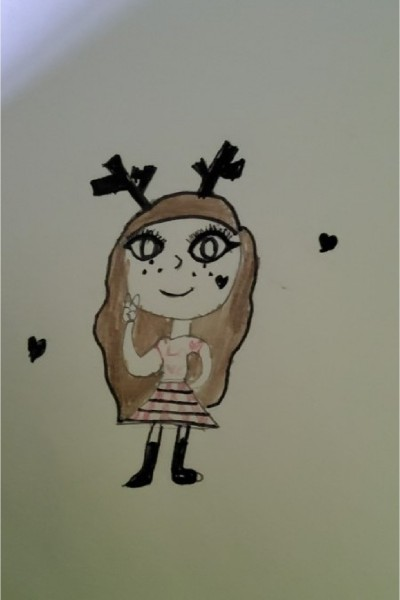 Deer Girl | Arya | Digital Drawing | PENUP