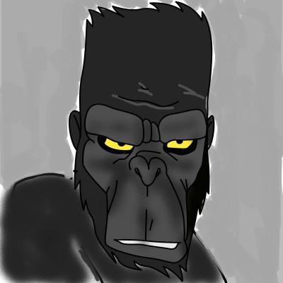 Gorila | Pamela | Digital Drawing | PENUP