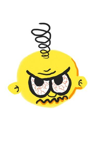 Emoji zangado   Daniellsamorim   Digital Drawing   PENUP
