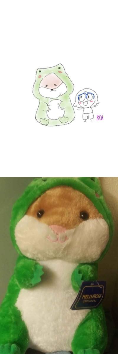 I drew one of my stuffed animals o((*^▽^*))o | koi | Digital Drawing | PENUP