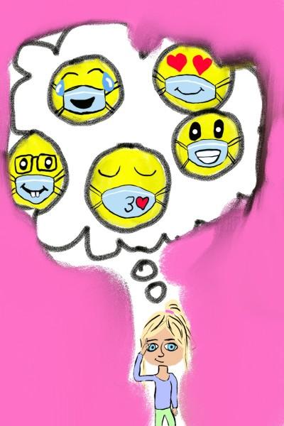 Emoji masks | beanbean | Digital Drawing | PENUP