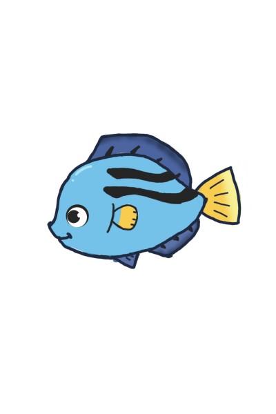 fish cartoon  | ace | Digital Drawing | PENUP