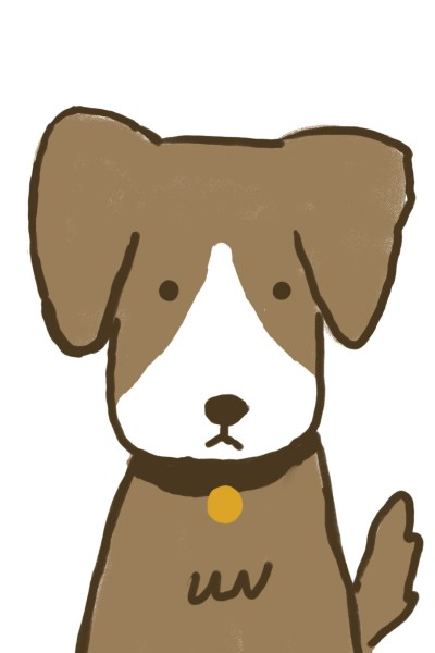 doggy cartoon with medal | ace | Digital Drawing | PENUP