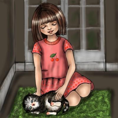 Kitty Love | jenart | Digital Drawing | PENUP