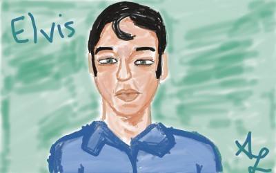 Elvis   _angel_cactus   Digital Drawing   PENUP