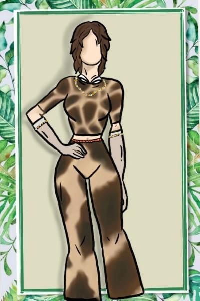 giraffe fashion    sofia.m.c   Digital Drawing   PENUP