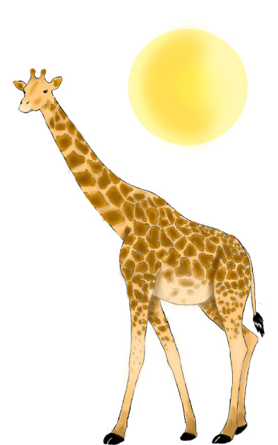 giraffe | selmansolo | Digital Drawing | PENUP