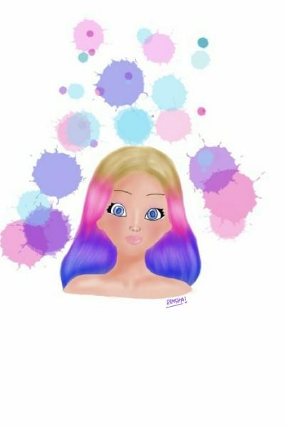 Character Digital Drawing | Rimik | PENUP