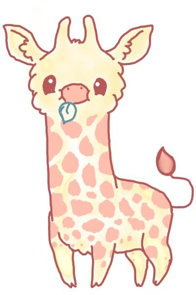 Tiny Giraffe | Miss_Panta | Digital Drawing | PENUP