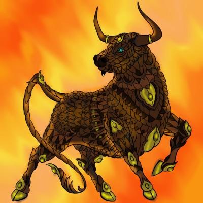 Bull run!!  | Sylvia | Digital Drawing | PENUP