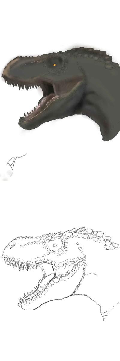 The start of a dinosaur world   MiniDrawer   Digital Drawing   PENUP