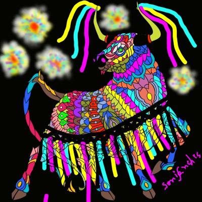 Bumba Meu Boi | SMS | Digital Drawing | PENUP