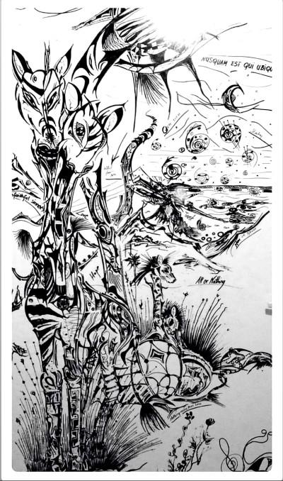 giraffes & giraffes | maggi | Digital Drawing | PENUP