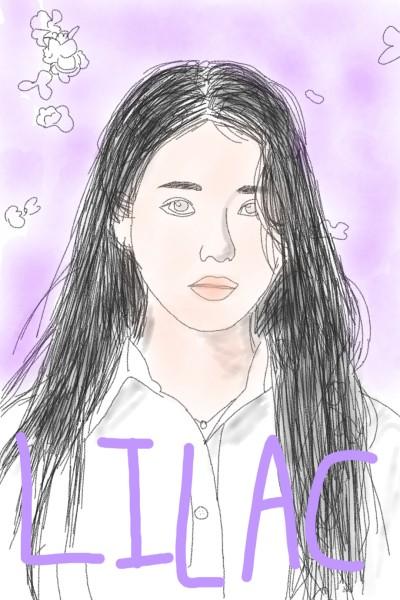 IU LILAC    jajaja.   Digital Drawing   PENUP