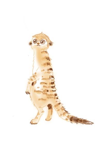 Meerkat | MiniDrawer | Digital Drawing | PENUP
