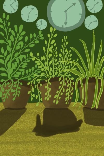 Plant Digital Drawing   Pradnya   PENUP