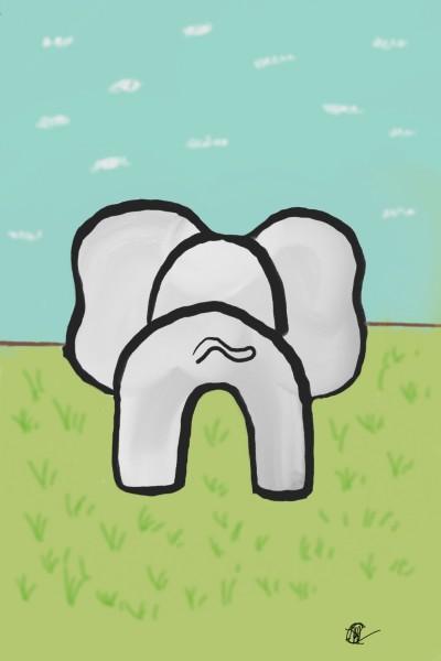 elephant   Raycamlo   Digital Drawing   PENUP