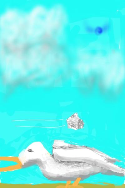 3 Ducks 2 stones   Way   Digital Drawing   PENUP