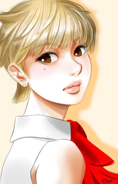 girl drawing 2 | tosi73 | Digital Drawing | PENUP