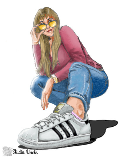 adidas | opit | Digital Drawing | PENUP