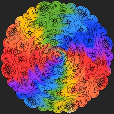 Beautiful pattern   A.K.G_INDIA   Digital Drawing   PENUP