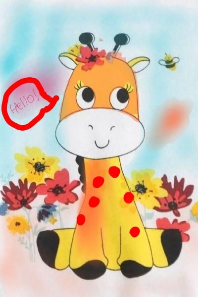 baby girrafe   Palak_arts   Digital Drawing   PENUP
