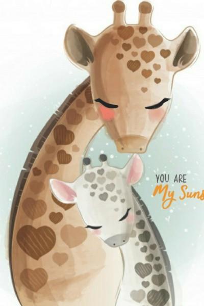 Giraffe   | Bobles | Digital Drawing | PENUP