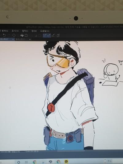창작이 뭔가요? | A_redbelly_newt | Digital Drawing | PENUP