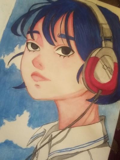 Music is burning in soul.......  | Yuya13 | Digital Drawing | PENUP