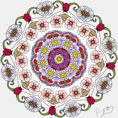 Coloring Digital Drawing | Rhonda | PENUP