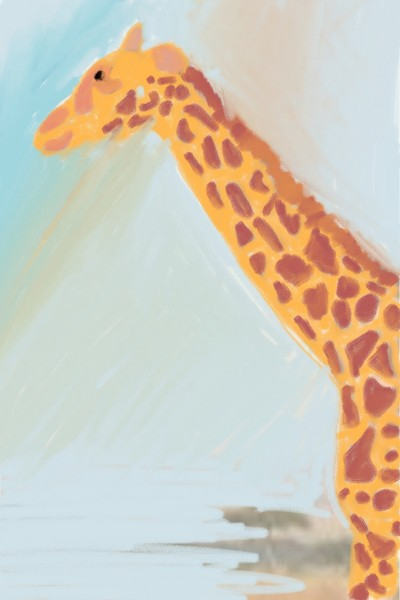 giraffe artwork  | shontu | Digital Drawing | PENUP